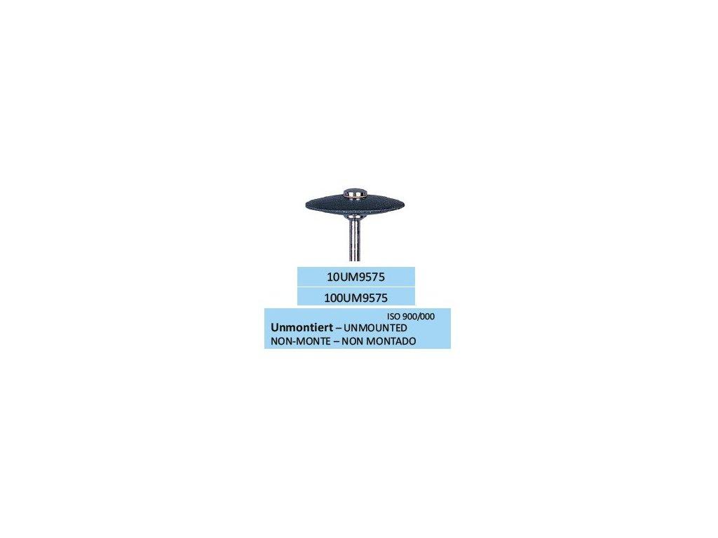 Leštící guma UNISOFT SCHWARZ UM9575 10ks