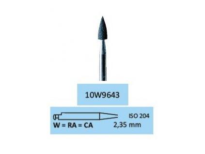 Leštící guma Amal-Gum W9643, 10ks