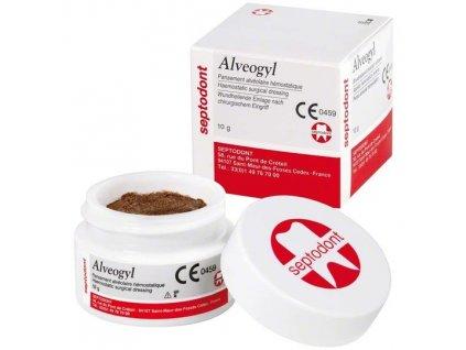 Alveogyl - pasta pro ošetření extrakční rány, 10g