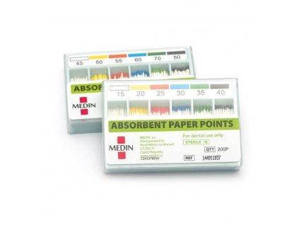 MEDIN Čepy papírové absorbční standard ISO 100