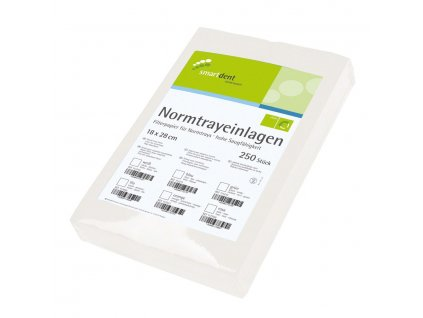 Smart ubrousky pro tácky - krepové, 250ks bílé