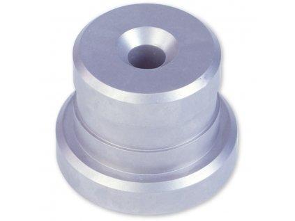 Bezpečnostní nerezový stojánek na stříkačku, pr.55mm x výška 38mm