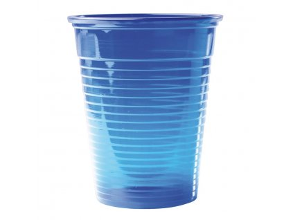 Omnicup PP - výplachové kelímky, 3000ks průhledné modré