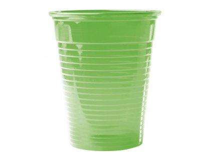 Omnicup PP - výplachové kelímky, 3000ks průhledné zelené
