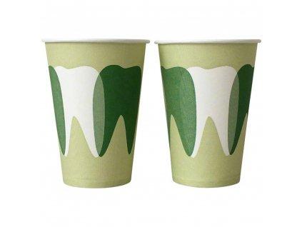 Kelímky papírové, 2000ks zelené