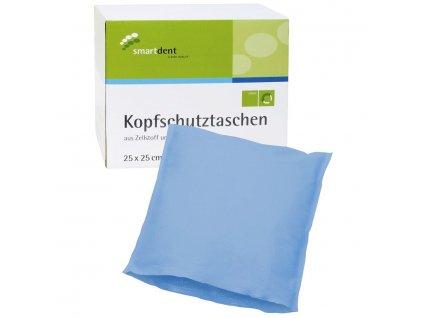 Smart ochranné návleky na opěrku hlavy, 25x25cm modré