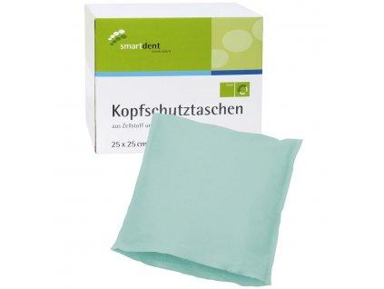 Smart ochranné návleky na opěrku hlavy, 25x25cm zelené