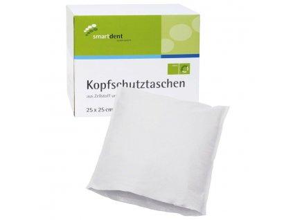 Smart ochranné návleky na opěrku hlavy, 25x25cm bílé
