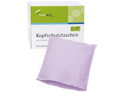 Smart ochranné návleky na opěrku hlavy, 25x25cm lila