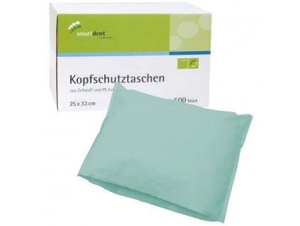 Smart ochranné návleky na opěrku hlavy, 25x33cm zelené