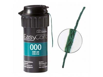 EasyCord Retrakční vlákno, velikost 000, barva zelená