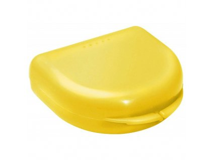 OMNI Box na rovnátka pro dospělé, žlutý