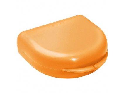 OMNI Box na rovnátka pro dospělé, oranžový