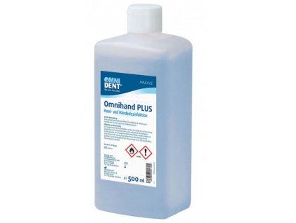 Omnihand Plus - dezinfekce na ruce, 500ml
