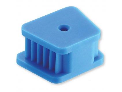 Autoklávovatelné kousátko, bez latexu, pro dospělé, modré