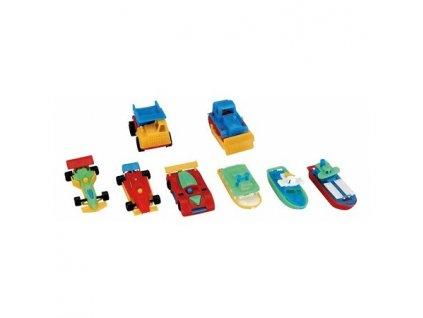 Miratoi hračky autíčka a lodě, 100ks