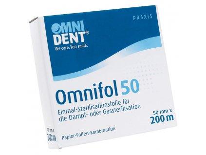 Omnifol - jednorázová sterilizační fólie, 50mm x 200m