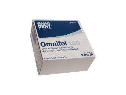 Omnifol - jednorázová sterilizační fólie, 100mm x 200m