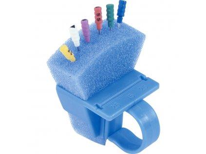 Endozásobník - prsten, modrý