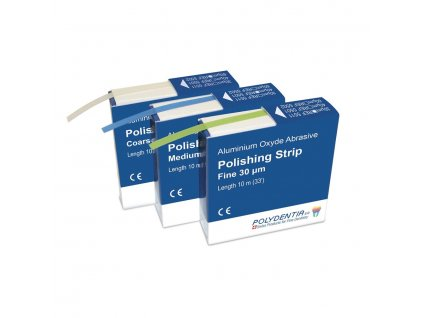 Abrasive polishing strips - leštící páska, 40 mikronů
