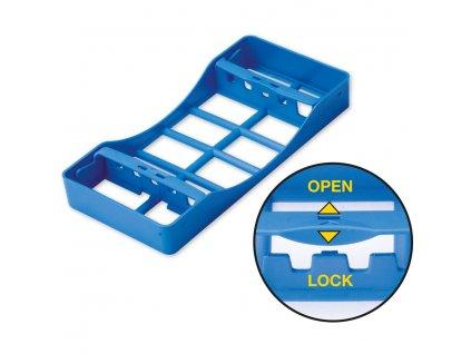 Plastová sterilizační kazeta na nástroje, malá, na 5ks