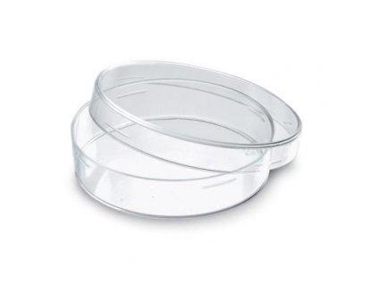 Petriho miska skleněná, 7 cm x 15 mm