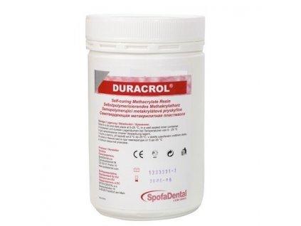 Duracrol - samopolymerující pryskyřice, prášek 500g