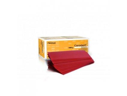Ceradent - ploténkový modelovací vosk, 1000g