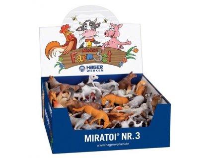 Miratoi hračky farma 3, 100ks