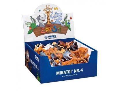 Miratoi hračky ZOO 4, 100ks