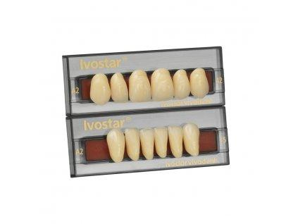Frontální zuby Ivostar A-D horní 6 ks