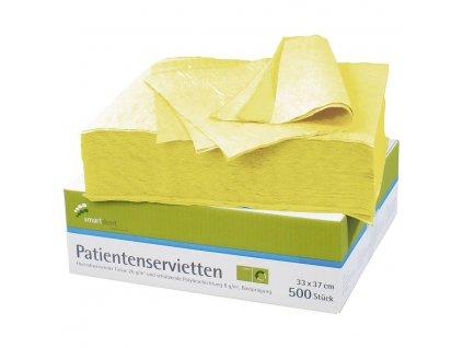 Smart ochranné roušky pro pacienty, 500ks žluté
