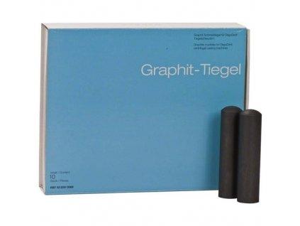 Grafitové kelímky Graphite MC, 10ks