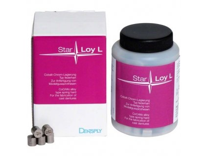 StarLoy L - slitina pro skelety, 2,5kg