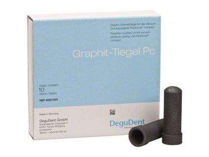 Grafitové kelímky Graphite Pc, 10ks