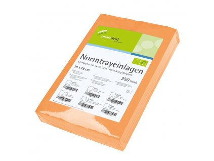 Smart papírové ubrousky pro tácky, oranžové