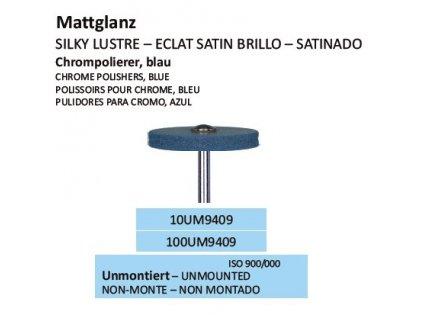 Leštící guma CHROMPOLIERER BLAU UM9409 100ks