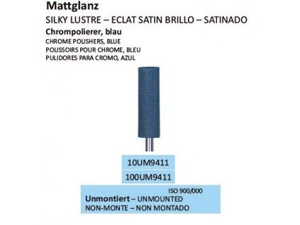 Leštící guma CHROMPOLIERER BLAU UM9411 100ks