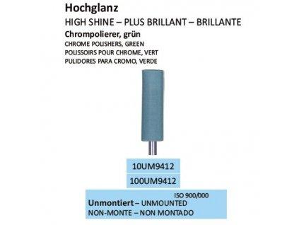 Leštící guma CHROMPOLIERER GRÜN UM9412 100ks