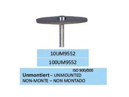 Leštící guma METADUR UM9552 100ks
