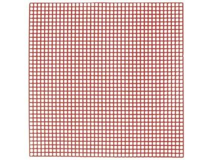 YETI Retenční mřížka, červená 10x10 cm, 10 tabulek