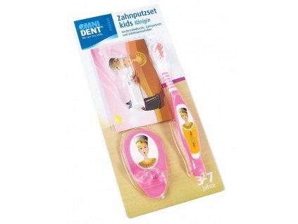 OMNI Kids - dětská sada na čištění zubů, královna