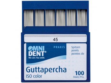OMNI Guttaperčové čepy 2% ISO 045