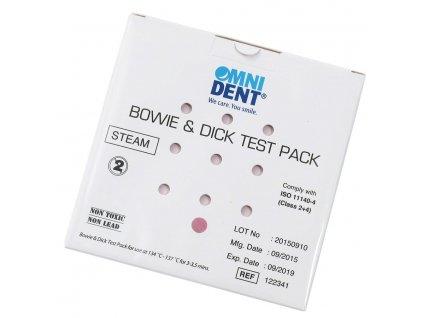 OMNI Bowie&Dick Test - povinný test autoklávu třídy B, 1ks