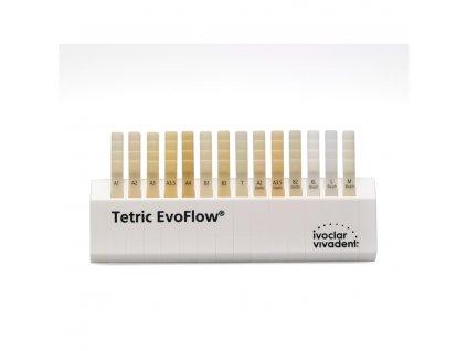 Tetric EvoFlow - barevný vzorník