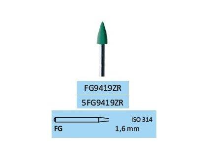 Leštící guma ZrO2-M FG9419ZR 5ks