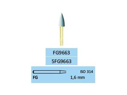 Leštící guma Superdia-Komp FG9663 5ks