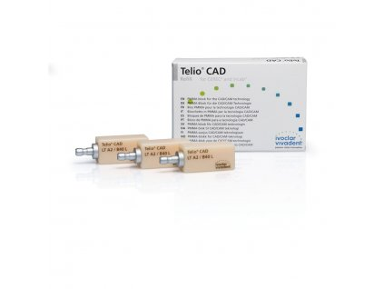 Telio CAD CEREC/inLab bloky LT vel. B40L, 3ks