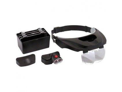 Lupové brýle Stereo LED