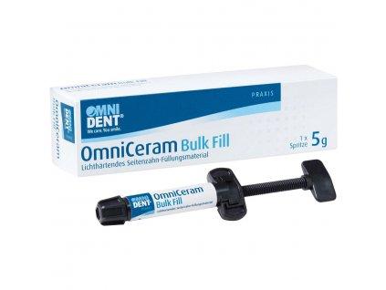OmniCeram Bulk Fill - nanohybridní kompozit, 5g stříkačka